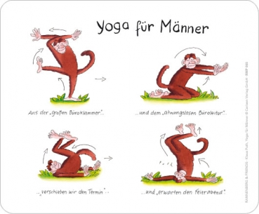 Maus - Pad - Yoga für Männer